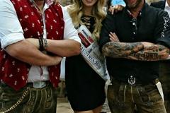 Miss-Austria 2016 Dragana Stankovic auf der Gast in Salzburg mit Edelschwortn